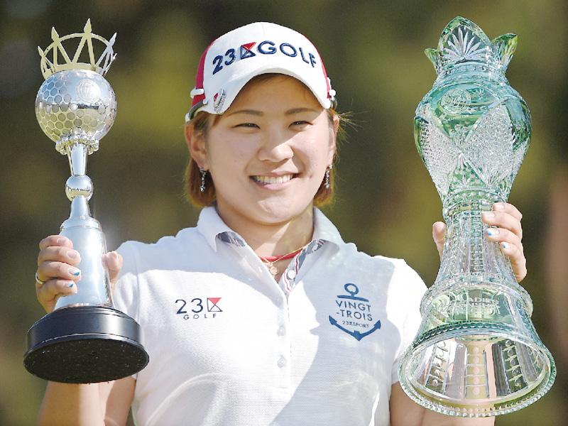 女子ゴルフ、成田美寿々が涙なきメジャー初V