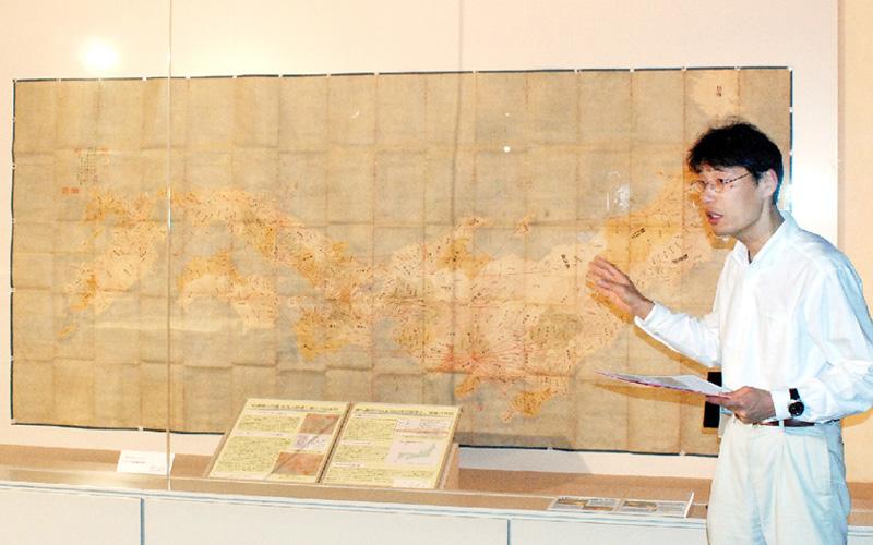 吉宗命じた全国測量図「享保日本図」を公開