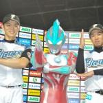 日本ハムの大野、びっくりサヨナラ本塁打