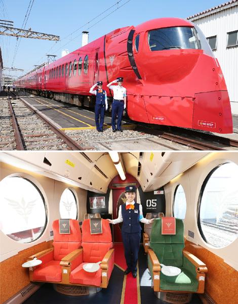 旅の目的は「列車に乗ること」
