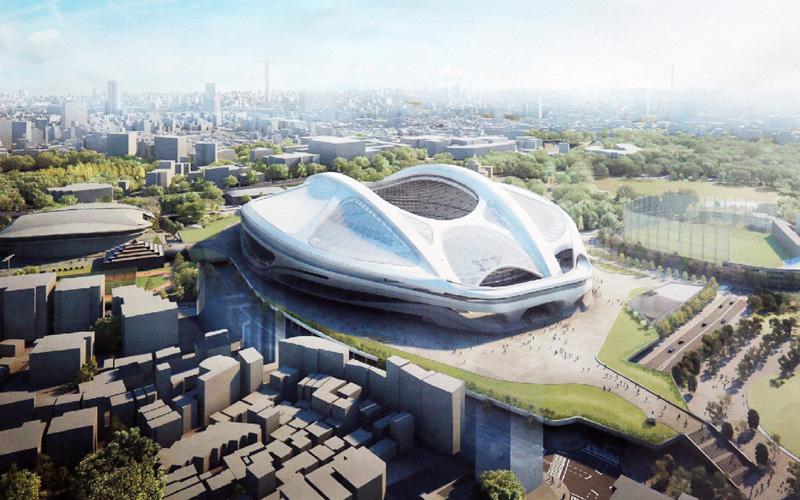 新国立競技場、高さを抑え景観に配慮