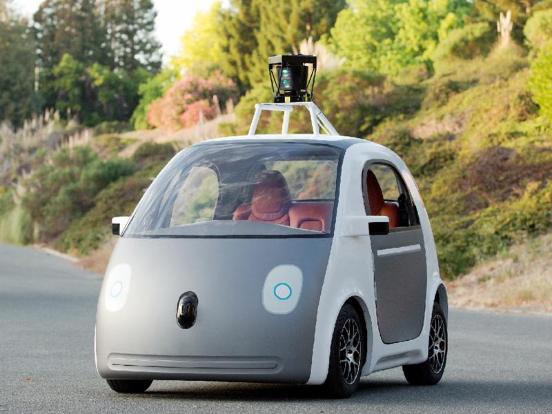 米グーグル、自動運転の試作車を公開