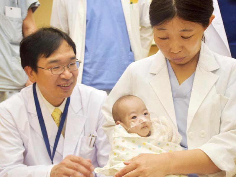 静岡県立こども病院、世界最小体重で難病手術
