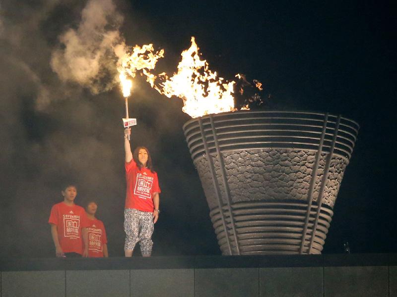 「さよなら国立競技場」、熱戦の記憶を刻み