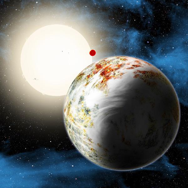 「メガアース」惑星を発見、質量は地球の17倍