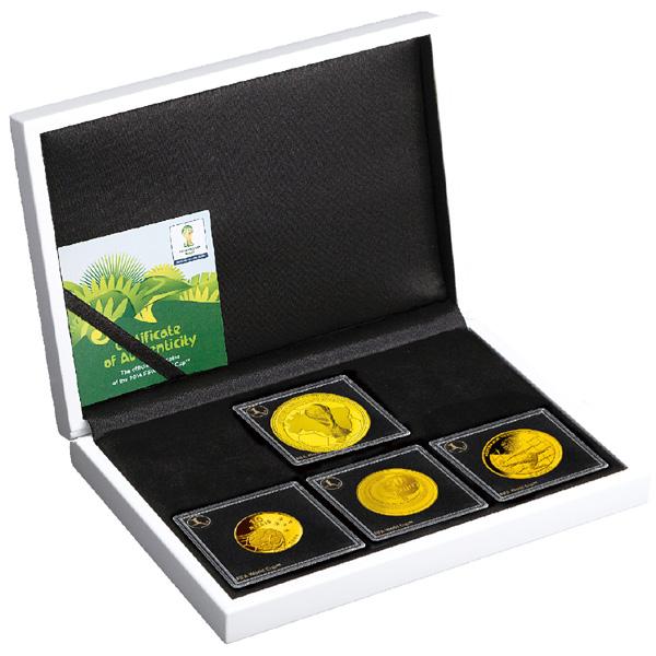 W杯ブラジル大会の公式記念コインを販売