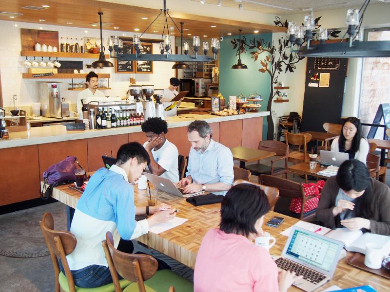 こだわりコーヒー店が増加