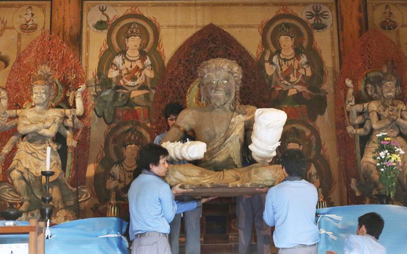京都の醍醐寺で、「五大力さん」がいざ出座