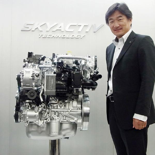 マツダ、「デミオ」に新型エンジンを搭載