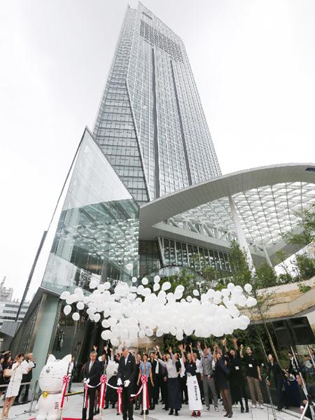 超高層ビル「虎ノ門ヒルズ」がオープン