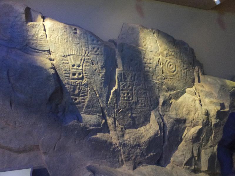 韓国慶尚北道の古代遺跡に「岩刻画」が点在