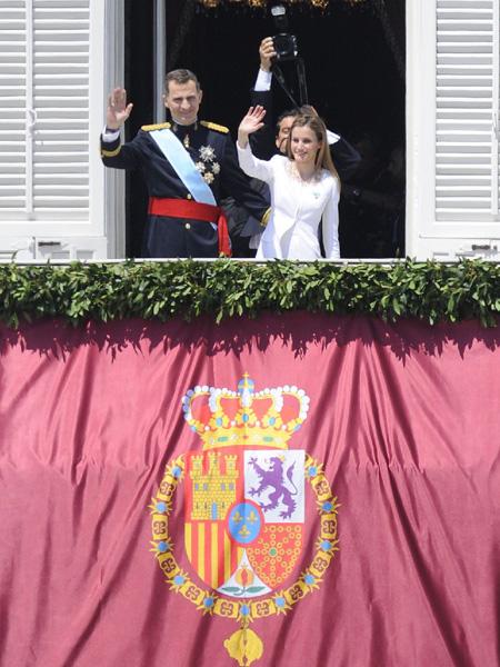 スペイン新国王フェリペ6世の戴冠式