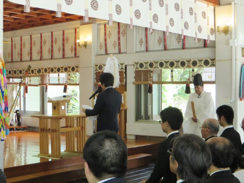 沖縄県護国神社、「慰霊の日」で英霊顕彰