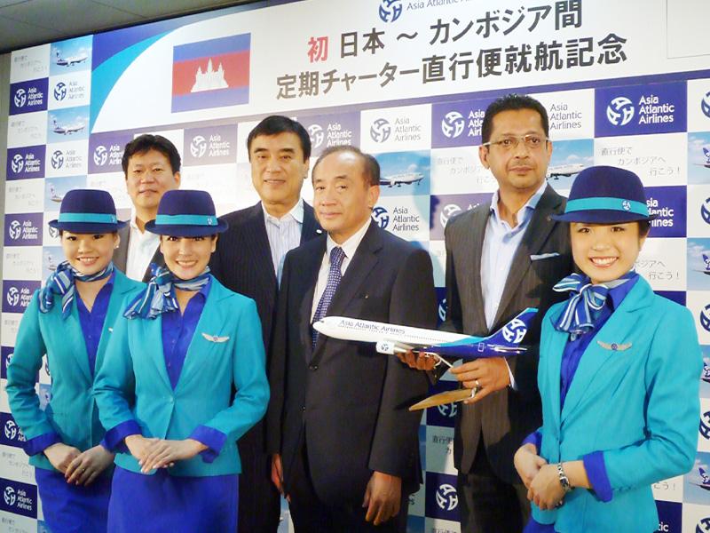 9月に成田-カンボジア線、初の定期直行便