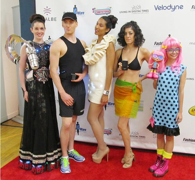 NYでITとファッションの融合したショー