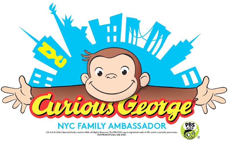 おさるのジョージがニューヨーク市の「大使」