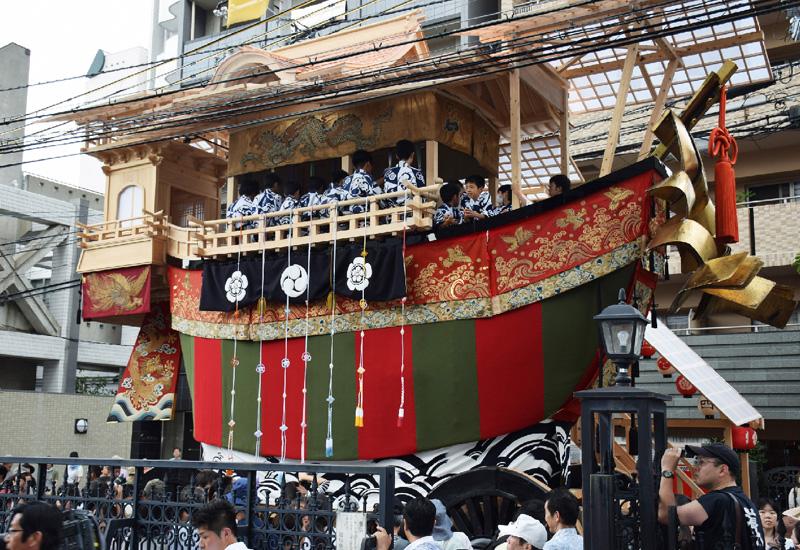 京都・祇園祭の大船鉾、150年ぶりに復興