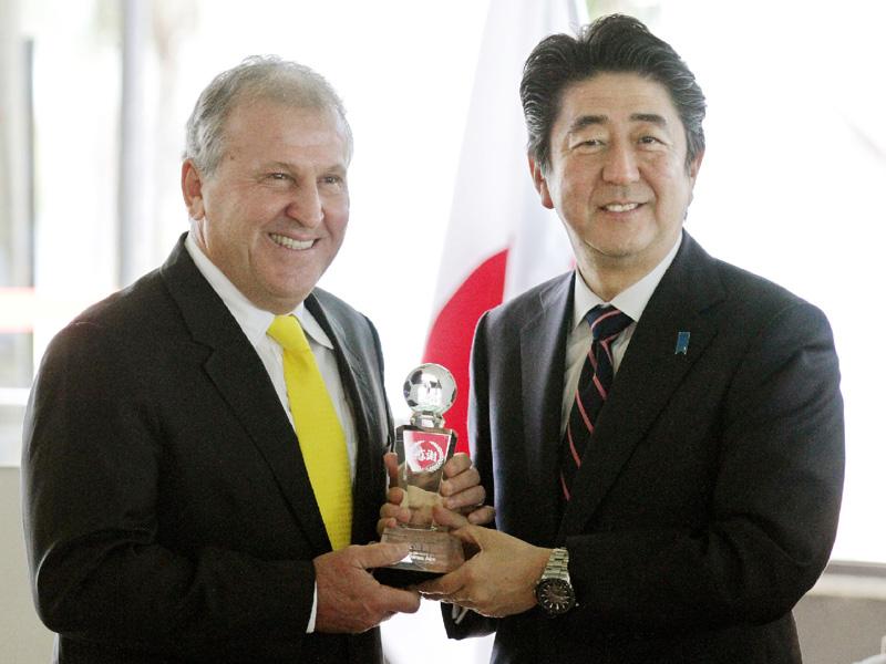 安倍首相「ブラジルは日本の師匠だ」