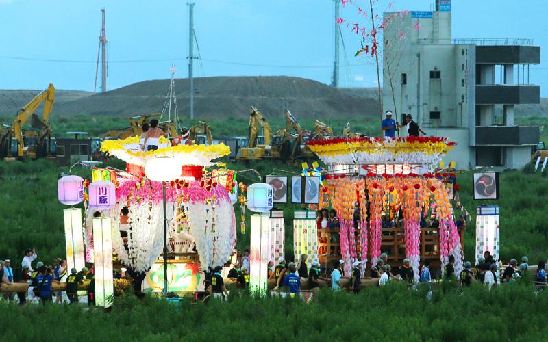 岩手・陸前高田、思い出のまちで最後の祭り
