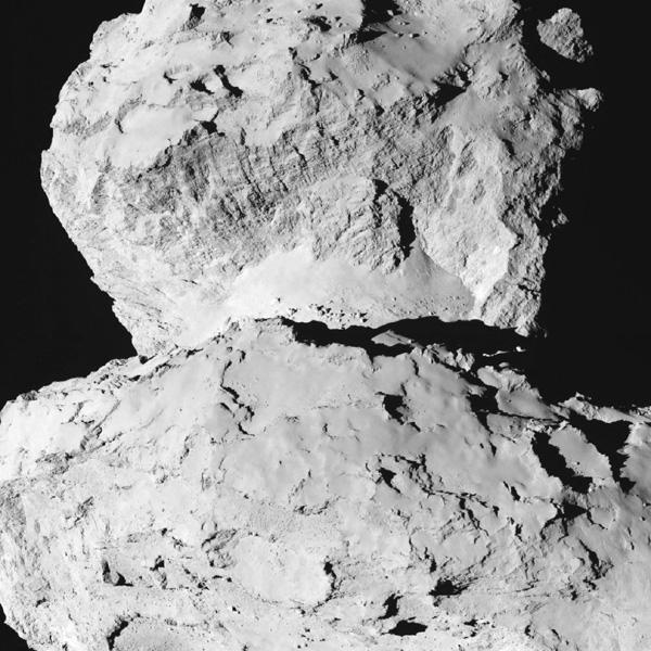イトカワ似の彗星本体、頭と胴体元は二つ?