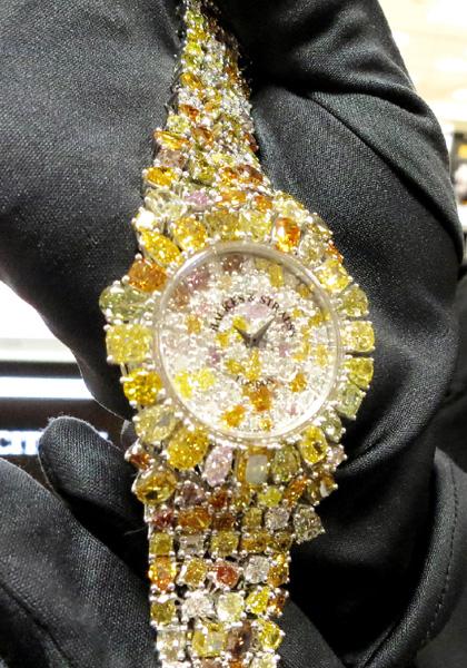 「バックス&ストラウス」の4億円の腕時計