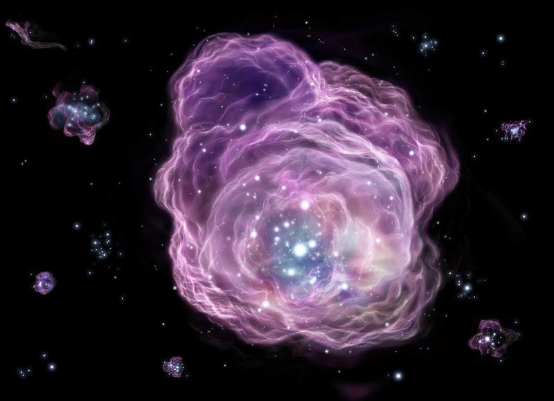 くじら座の方向1000光年先「第2世代星」に