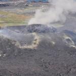 西之島に「溶岩マウンド」、爆発的噴火の恐れも