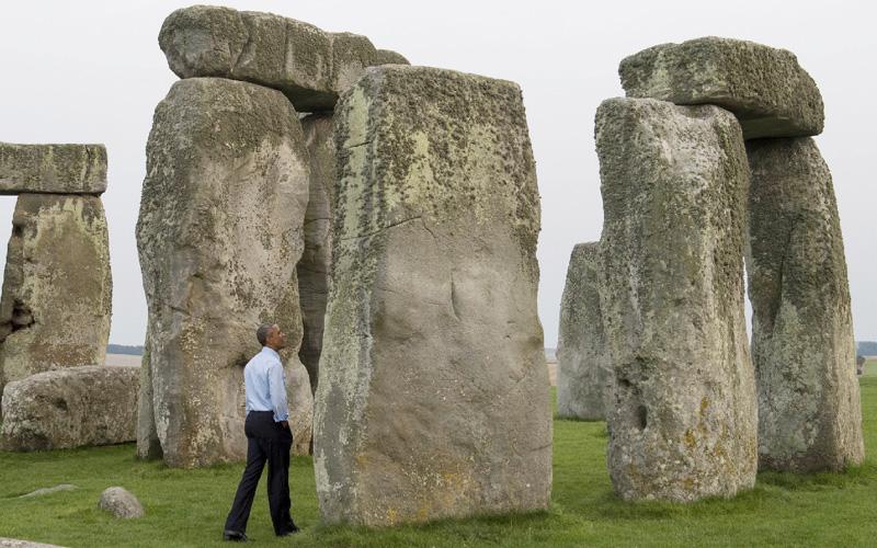 オバマ米大統領、世界遺産を「電撃訪問」