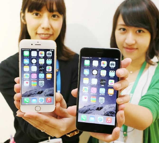 携帯大手3社、「iPhone6」を発売