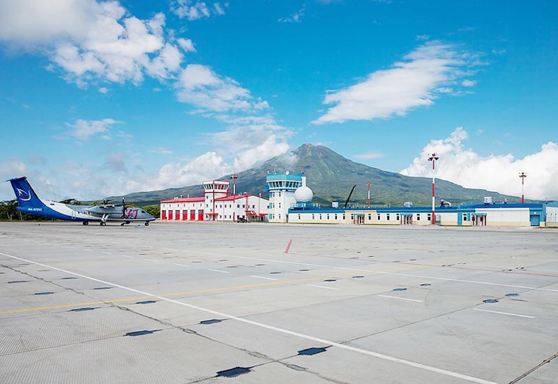 北方領土の択捉島で建設中の新空港がほぼ完成