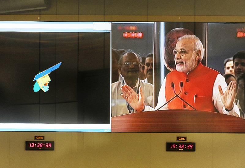 インド探査機「マンガルヤーン」、火星軌道に