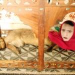 パキスタン・カラチの動物園に半人半獣?