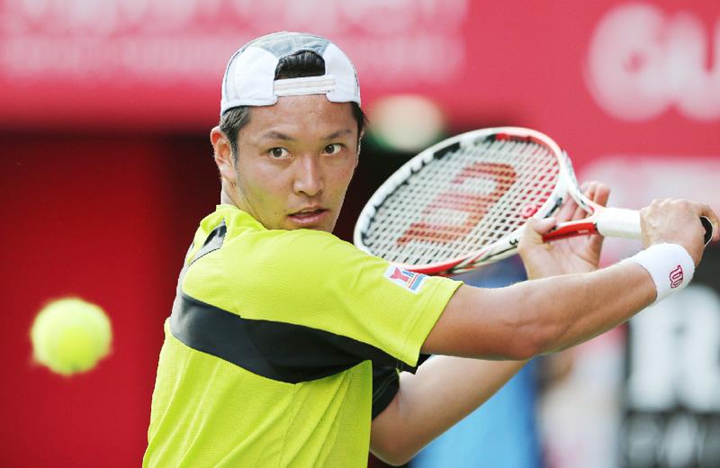 楽天テニス、伊藤竜馬が強気を貫き大殊勲