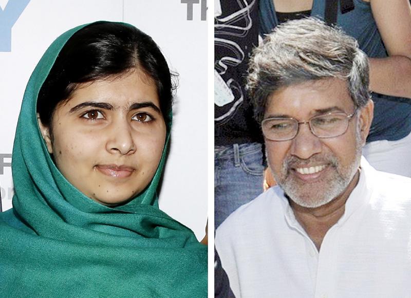 マララさんとインド人権活動家にノーベル平和賞