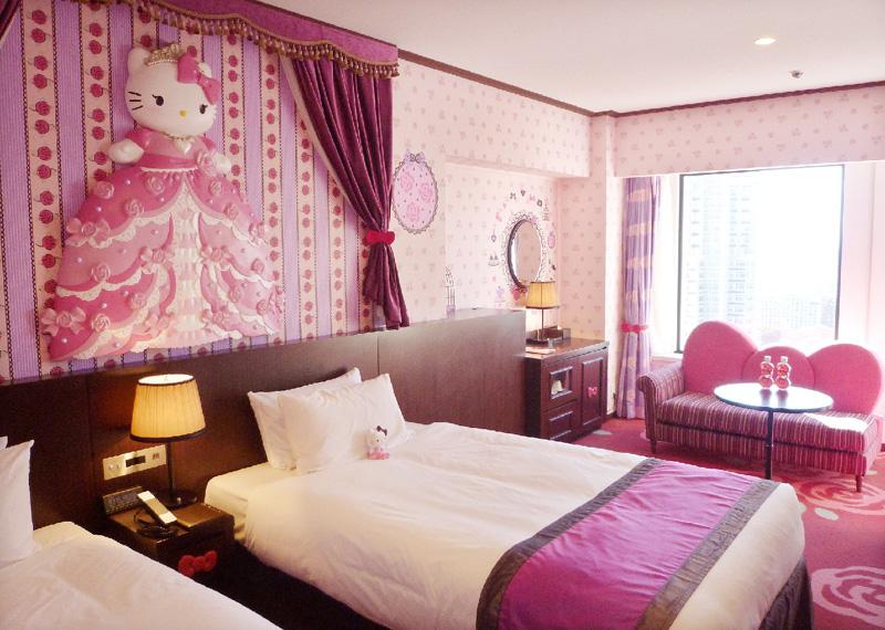 京王プラザ、キティの特別室が11月にオープン