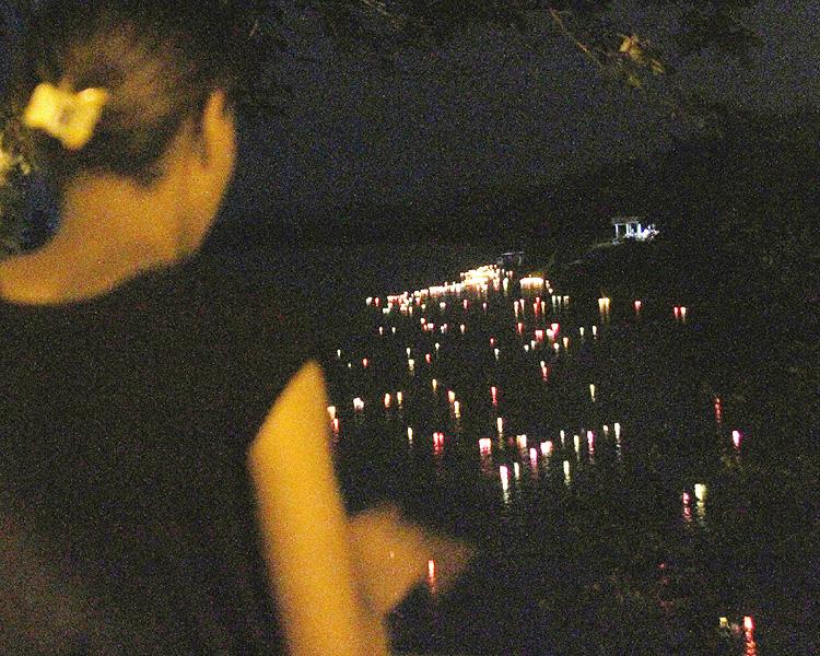 ブラジル・レジストロ市で南米最大の灯籠流し