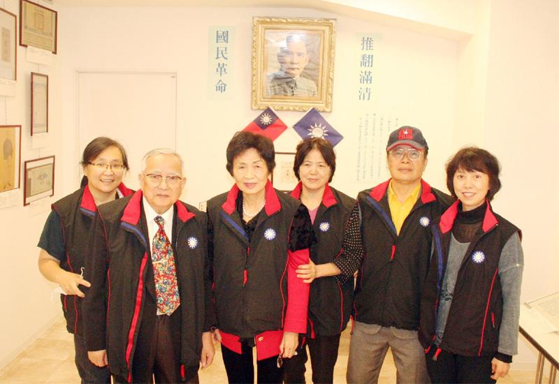 台湾の国民党が建党120周年を記念して特別展