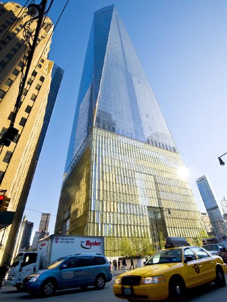 「ワン・ワールド・トレード・センター」ビルが開業