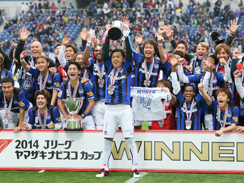 G大阪3冠へまず一つ、起点増やし2点差逆転