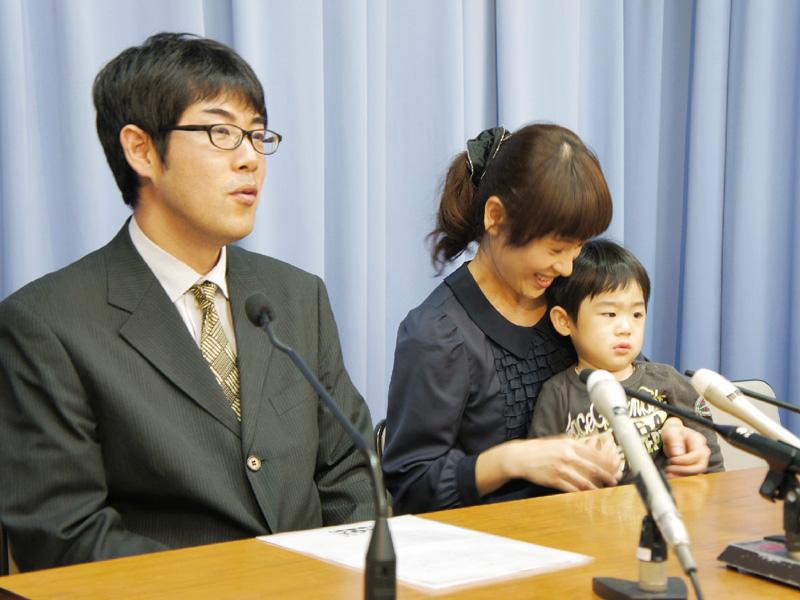 2歳児杉本類ちゃんが募金で渡米心移植成功