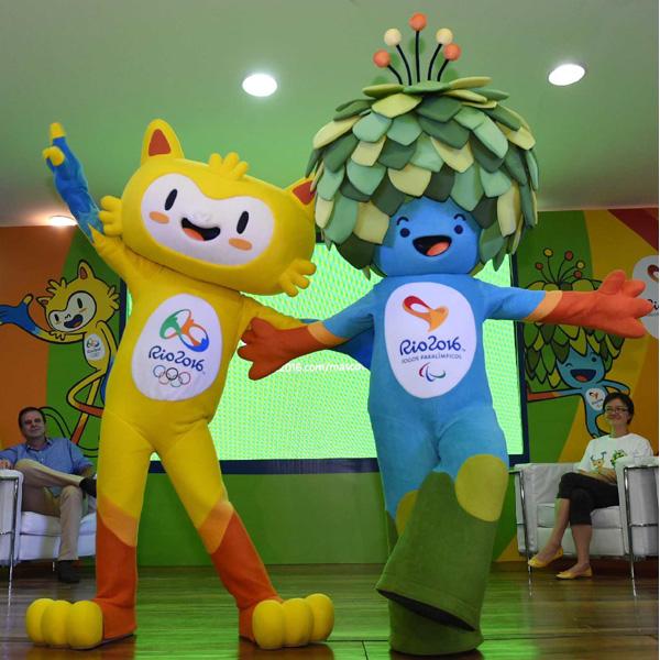 リオ五輪の組織委がマスコットを公開