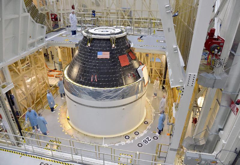 次世代宇宙船「オリオン」の試験機、初飛行へ