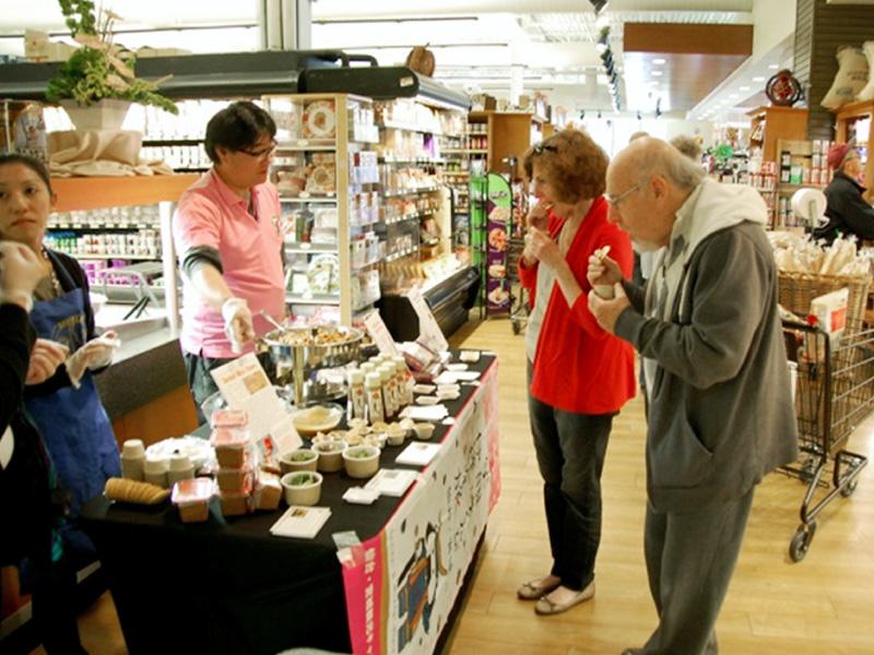 宮城県が米友好自治体で県産品を販売