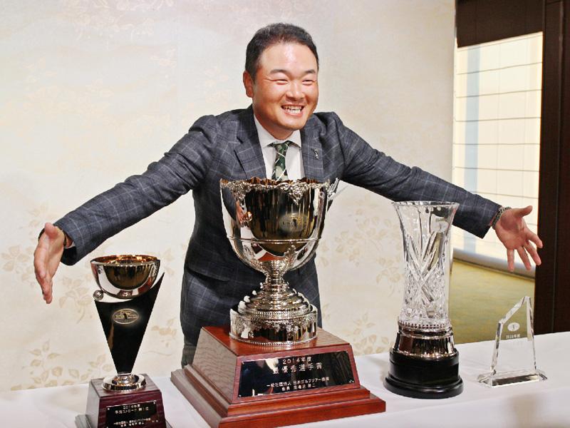 小田孔明「たくさん賞をもらって気分は最高」