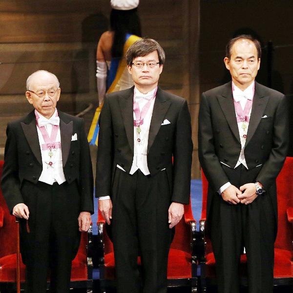 日本3氏、赤崎・天野・中村教授に金メダル