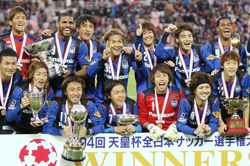 サッカー天皇杯で宇佐美が2得点、山形下す