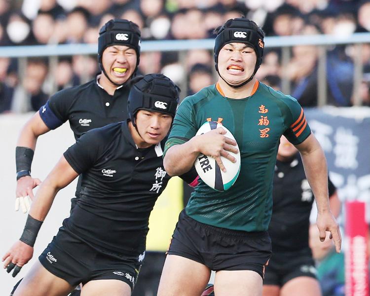 東福岡が圧勝で3冠、展開力に絶対の自信