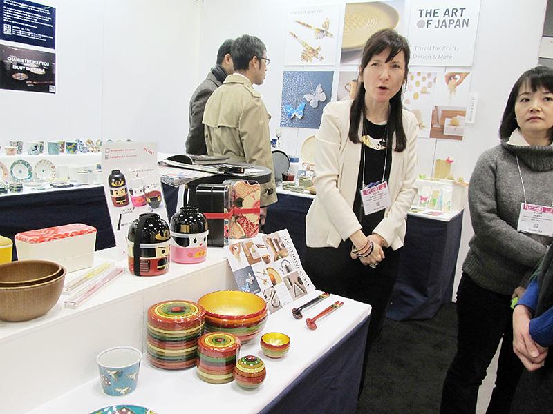 石川県、伝統工芸品を「NY NOW」に初出展