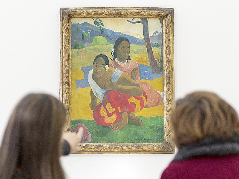 ゴーギャン絵画に史上最高額、355億円の値