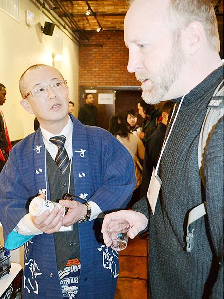 蔵元16社、ニューヨークで日本酒を売り込む